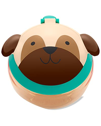 Skip Hop Zoo Snack Cup Back to School, Pug