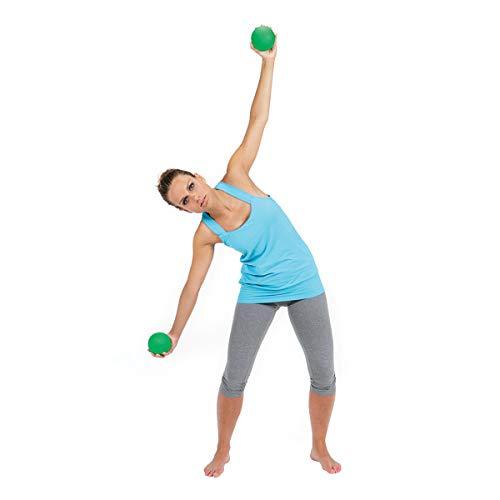 Gymnic Heavymed 3 Medicine Ball, Blue (17 cm, 3 kg / 6.6 lbs ...