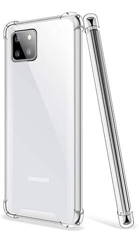 Kit Capa Anti Queda E Película De Gel Galaxy Note 10 Lite (C7COMPANY)