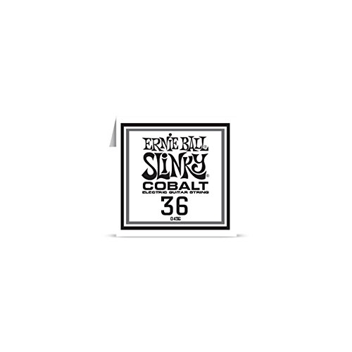 Ernie Ball 10436–Cuerda AU détail guitarra eléctrica Slinky Cobalt–filé redondo 036