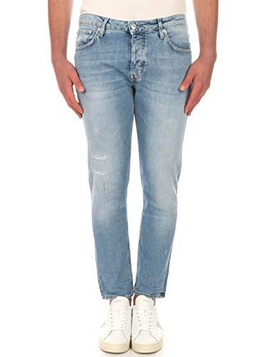 Haikure HEM03164DS059L0558 Jeans Cropped für Herren, Blau 29