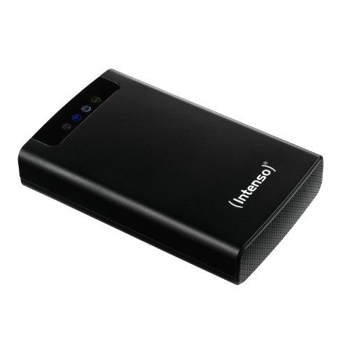 Intenso 6025530 - Disco duro 2.5 pulgadas, con Wifi, USB 3.0, 500 GB, color negro