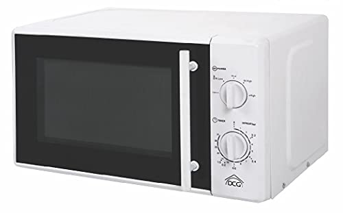 Horno microondas blanco con grill de 20 litros y...