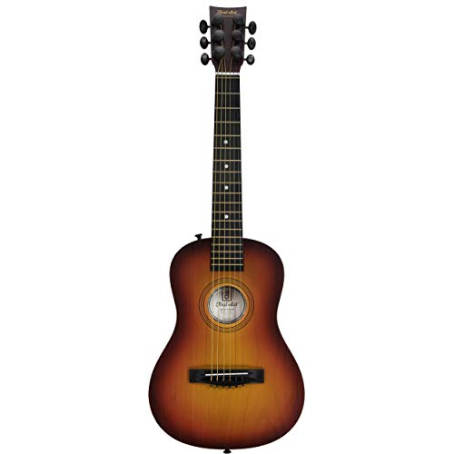 First Act Acoustic Sunburst Guitar, 30 Inch - Brass Acoustic Guitar Strings, Tuning Gear, String Post Covers, Steel-Reinforced Neck, Strap Buttons - Musical Instruments