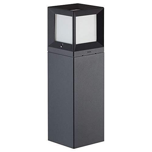 BEGA 84604K3 - Lámpara LED de pie (3000 K), color gris