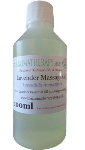 The Aromatherapy Shop Lavande Huile De Massage - 100ml