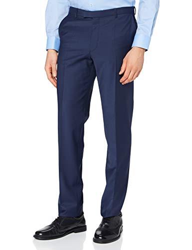 Pierre Cardin Anzughose Futureflex Dupont Pantalones de Traje, Azul, 6 Mes para Hombre