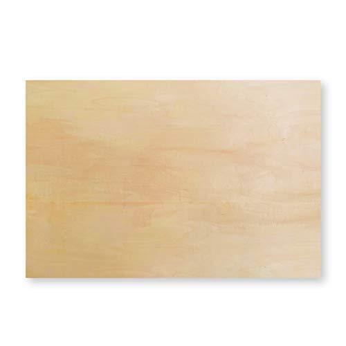木製パネル しなベニヤ B2 枠厚20mm 1枚
