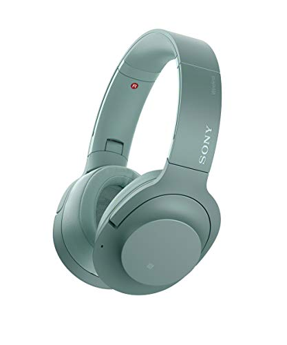 Sony WH-H900N h.Ear Series Wireless Over-Ear Noise Cancelling High Resolution Headphones (International Version/Seller Warranty) (Green)