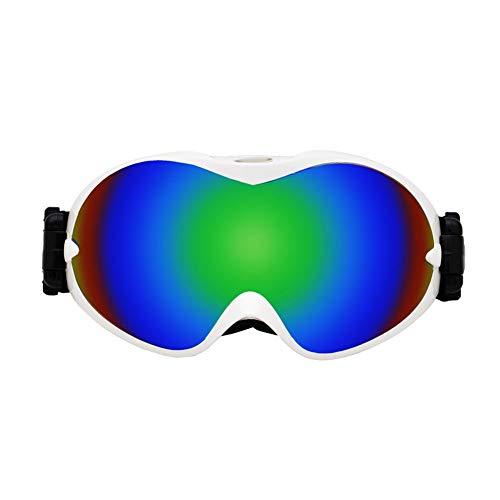 Getrichar Gafas de esquí al Aire Libre Anti-vaho a Prueba de Viento vidrios de los anteojos Arena Polvo Gafas de esquí Riding vidrios de la Motocicleta Protección Experimental