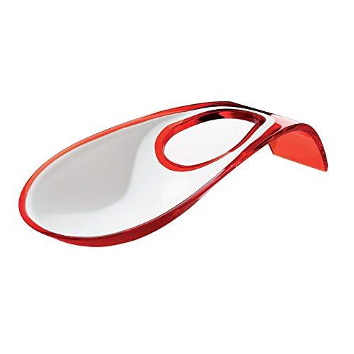 Guzzini . 28560065 Kochlöffelablage zweifarbig weiß rot Küche Löffel