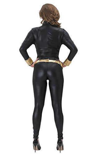 Rubies 's–Disfraz Oficial de Marvel, Viuda Negra, para Adultos Oficial–Negro, Talla XS