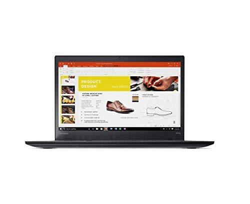 Lenovo Thinkpad T470s 14 inch FHD (1920x1080) IPS Backlit LED Laptop (Intel Dual-Core i5-6300U, 8GB DDR4 RAM, 256GB SSD, HD 520) Thunderbolt 3, HDMI, RJ-45, Type-C, Windows 10 Professional (Renewed)