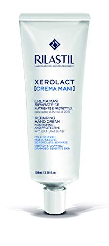 Rilastil Xerolact Crema Mani Riparatrice Nutriente e Protettiva, 100ml