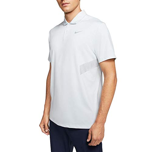 Nike Herren M Nk Dry Vapor Reflect Polo, Pure Platinum/Reflective silv, M