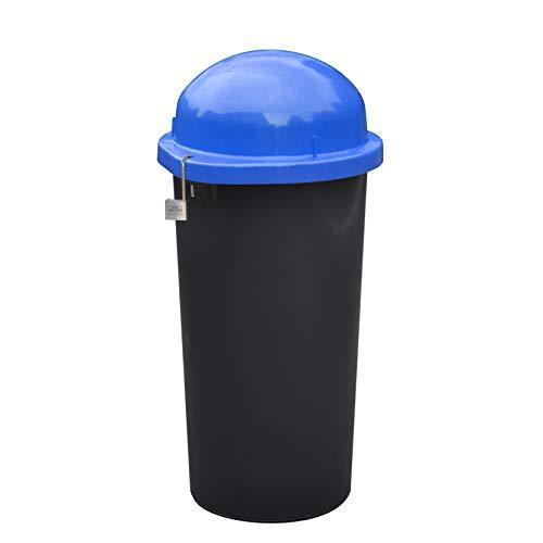 KUEFA Mülleimer/Gelber Sack Ständer - abschließbar (Blau)