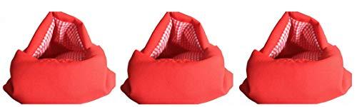 tempo di saldi 3 X Sacco Cuoci Patate In Microonde Rosso Riutilizzabile Per Dieta Borsa Cucina