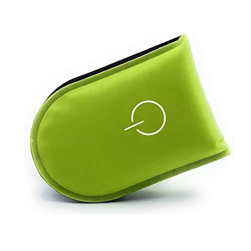 Veaoiy LED Sicherheitslicht Clip Magnetclip Licht fürs Laufen Joggen Walking Hochwertiges Leichtes Blinklicht Kinder und Erwachsene (Nylon-Grün)