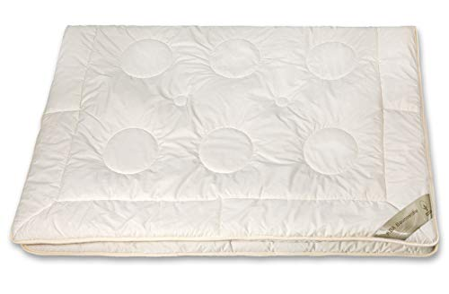 franknatur - Bettdecke Kamelhaar Sommer-Decke Bio Baumwolle KBA Nadin 155x220