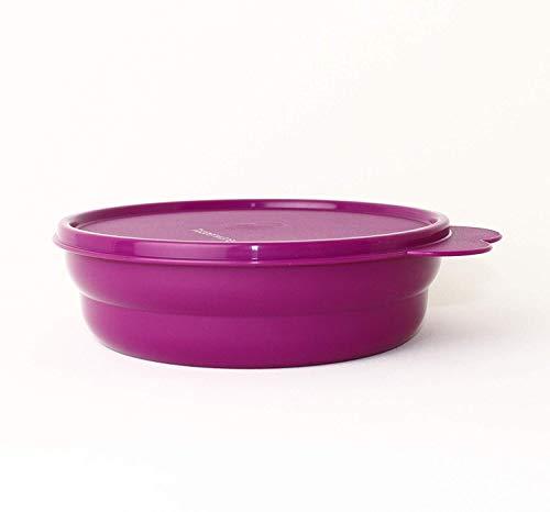 TUPPERWARE Servierschale Teller mit Deckel Tomate Mozzarella Schüssel mit Deckel pink