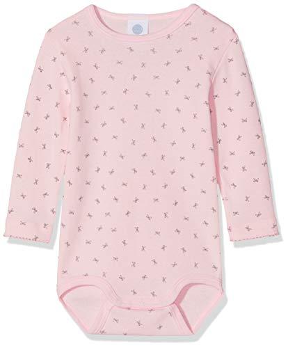 Sanetta Sanetta Baby-Mädchen 1/1 Allover Formender Body, Pink (Magnolie 3609), 62