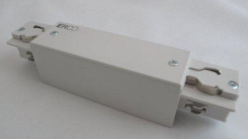 ERCO 79304 Kupplung für 3 Phasen Stromschiene Weiss