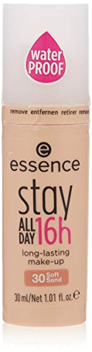 Essence Stay all Day 16h Long-lasting Make-up Soft Sand 30, 30 ml (1St)