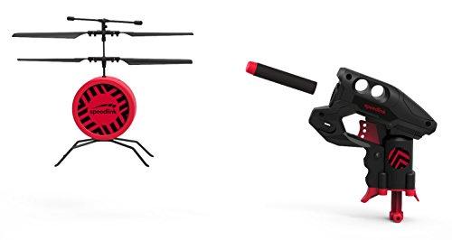 Speedlink SL-920004-BK DRONE SHOOTER Game Set - Drohnen Schießspiel - Höhenkontrolle durch Infrarotsensor, schwarz