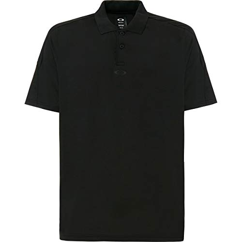 Oakley Men's Golf Ergonomic Shirts,X-Large,Blackout