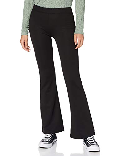 ONLY Damen ONLFEVER Stretch Flaired Pants JRS NOOS Hose, Black, XL 34