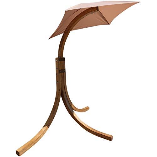 ASS Gestell für Hängesessel Hängesesselgestell Navassa aus Lärche Holz (ohne Sessel) von