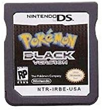 Pokemon Black Version Game Cartridge Card For Nintendo DS 3DS NDSI NDS NDSL USA English