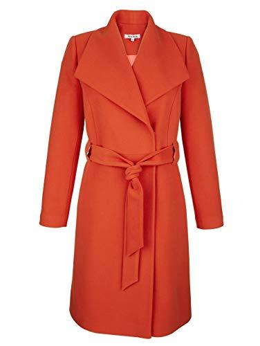 Alba Moda Mantel in femininer Form Orange