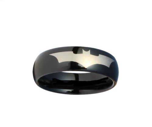 Blue Palm Batman Ring