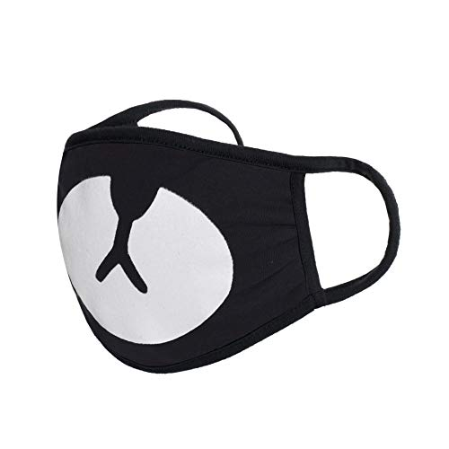 Funny Face Masks Accessories Cotton (BEAR, BLACK)