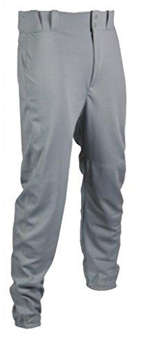 Tag Jugend Baseball Hose mit Gürtelschlaufen (Elastic Hose), Jungen, grau, Large