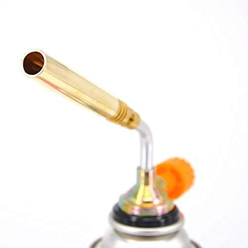 Lizefang Soplete de Cocina de Gas butano para crème brûlée Gas butano no Incluido de Metal Eco Friendly