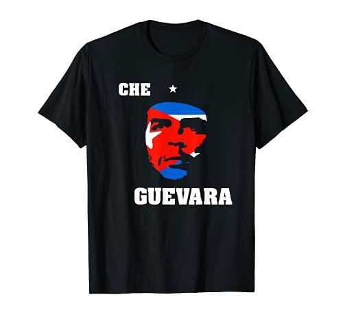 Che Guevara Cuba Revolucionario Guerrillero Icono Mundial Camiseta