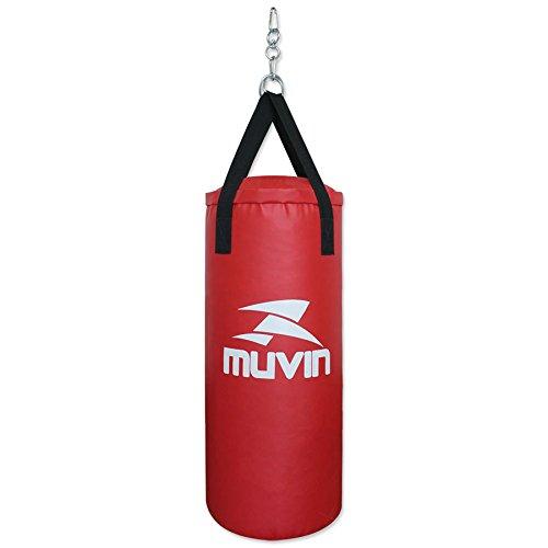Saco de pancada Muvin - Vermelho - 70x30-15 kg
