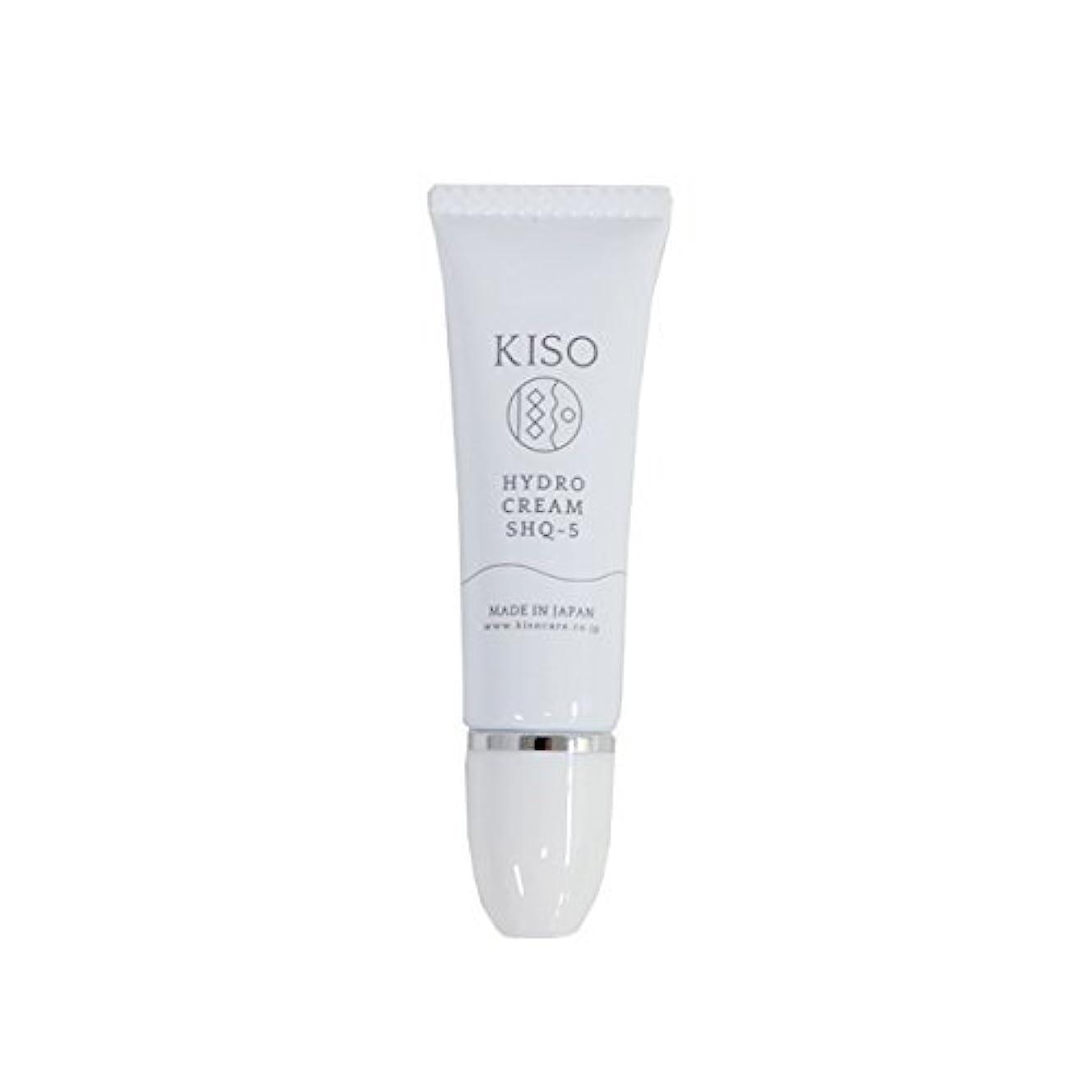 カプセルやむを得ない陪審KISO 安定型 ハイドロキノン 5%配合【ハイドロ クリーム SHQ-5 10g】スキンケアで肌を整えた後にちょこっとケア 日本製