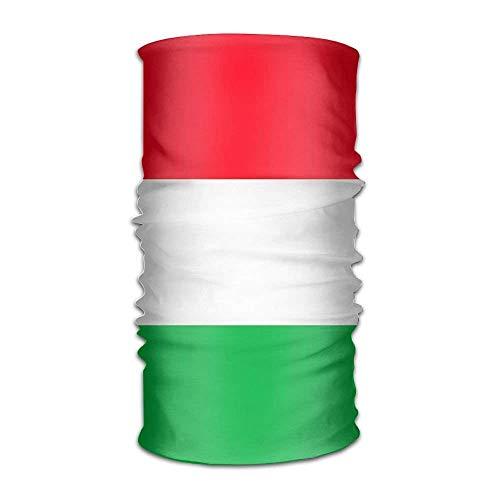 Hungary Flag Headwrap Unisex Multifunction Headwear Polyester Quick Dry Soft Headband Neck Scarf,Cool Headdress Travel Magic Head Scarf Bandana Mask Neck Gaiter for Men Women
