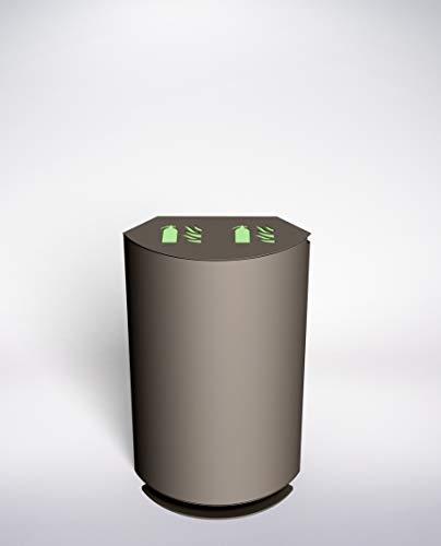 Caja Diseño Alto Doble, Armario para 2 Extintores Tipo 6 L o...
