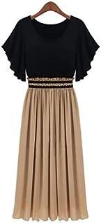 Black Chiffon Casual Dress For Women