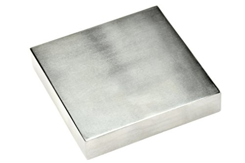 "SE 4"" x ¾"" x 4"" Steel Bench Block - JT34443SB"