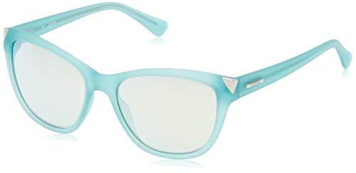 Guess Gafas de Sol, Azul (Blue), 55.0 para Mujer