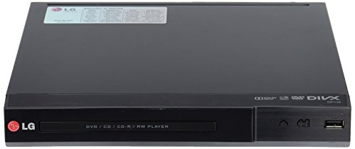 LG DP132 DVD Player, Multiformatos DivX, USB, negro
