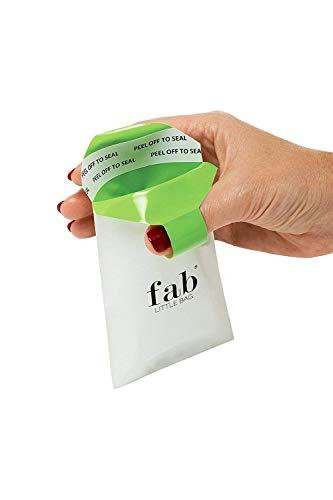 FabLittleBag Hygienebeutel für Damenbinden und Sanitär Pad (240 Entsorgungsbeutel)