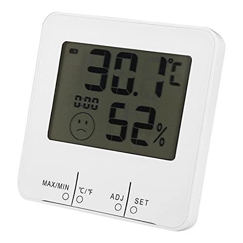 Higrómetro multifuncional del metro de la humedad de la temperatura para el almacén para el hogar