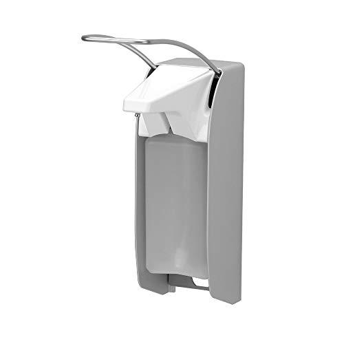 OPHARDT Hygiene 1416000 ingo-man plus IMP ELS A / 24 Spender für Flüssigseifen und Desinfektionsmittel, 500 ml, Matt-Silber eloxiertes Aluminium