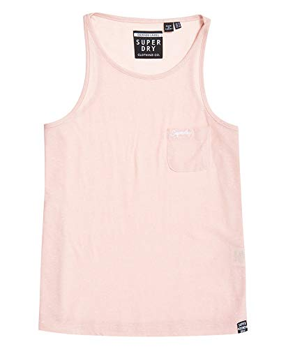 Superdry OL Essential Tank Top Damen Gr. 32, Rosa